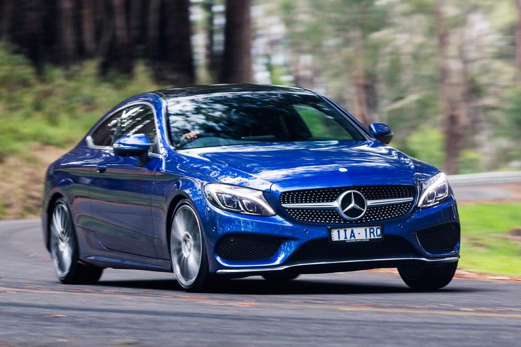 MercedesBenz CClass Coupe 2016 Review  motoringcomau