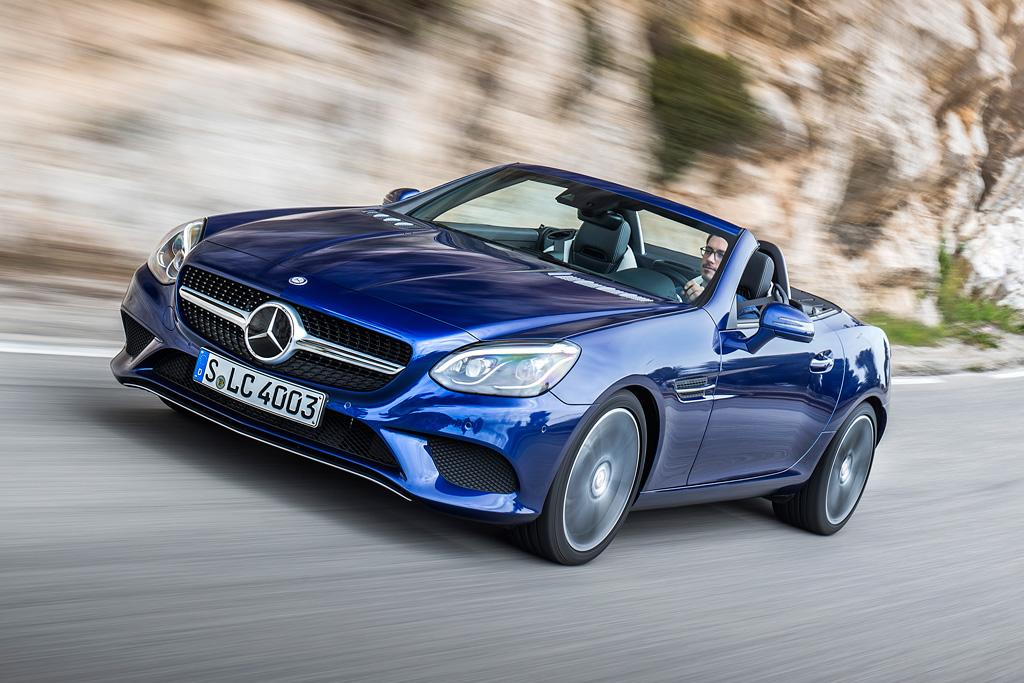 mercedes benz slc class 2016 review