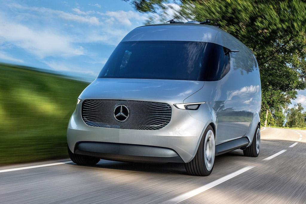 Mercedes Benz Vision Van Concept