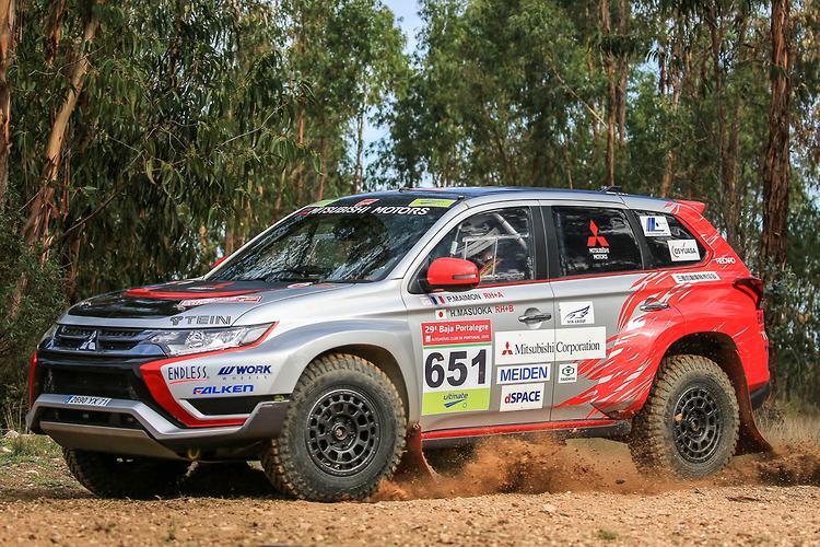 Hybrid vigour: Mitsubishi Outlander PHEV rally car - motoring.com.au