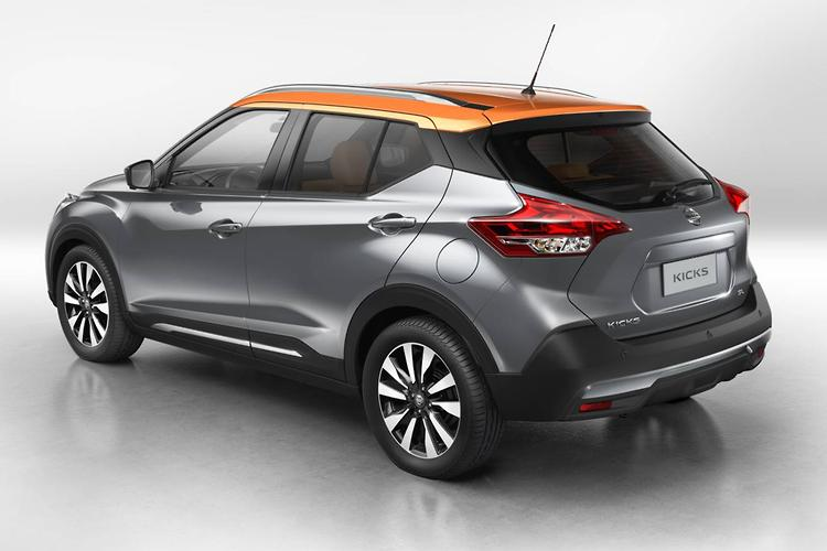 Expected To Slot In Underneath The JUKE And QASHQAI Small SUVs, The Nissan  Kicks Measures 4295mm Long, Just 20mm Longer Than The Mazda CX 3.