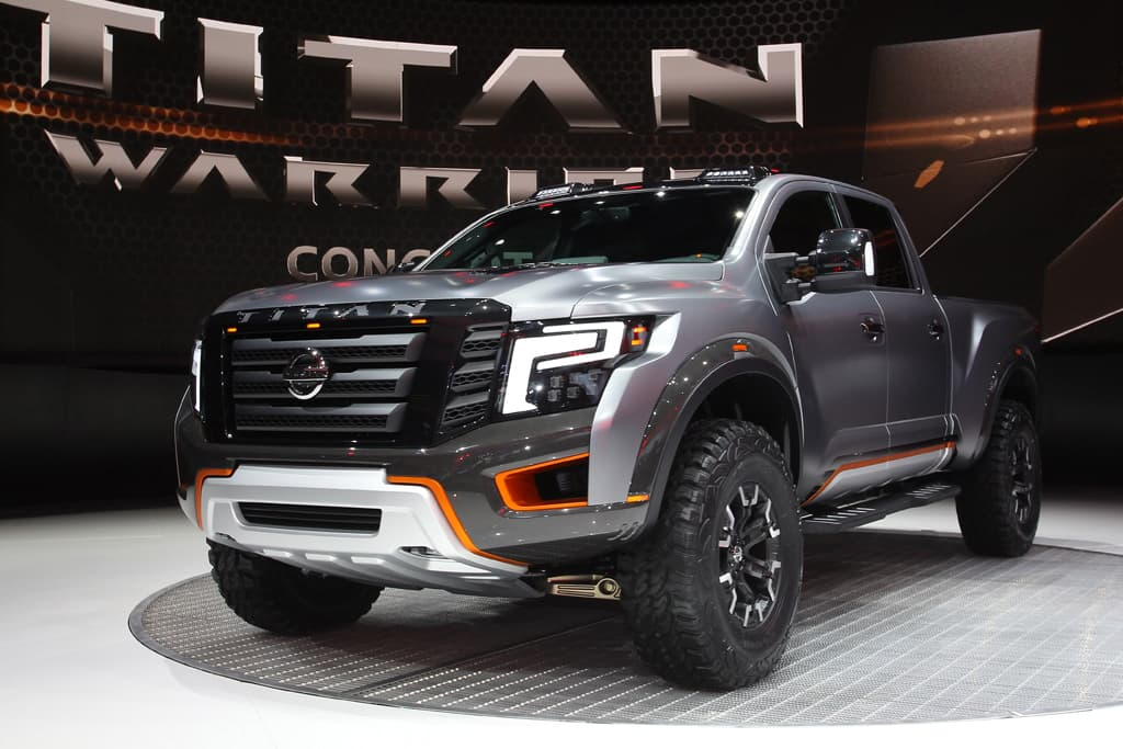 Detroit Motor Show Nissan Debuts Titan Warrior Concept
