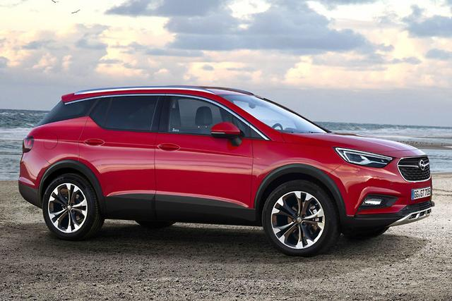 spy pics opel grandland x suv not for oz. Black Bedroom Furniture Sets. Home Design Ideas