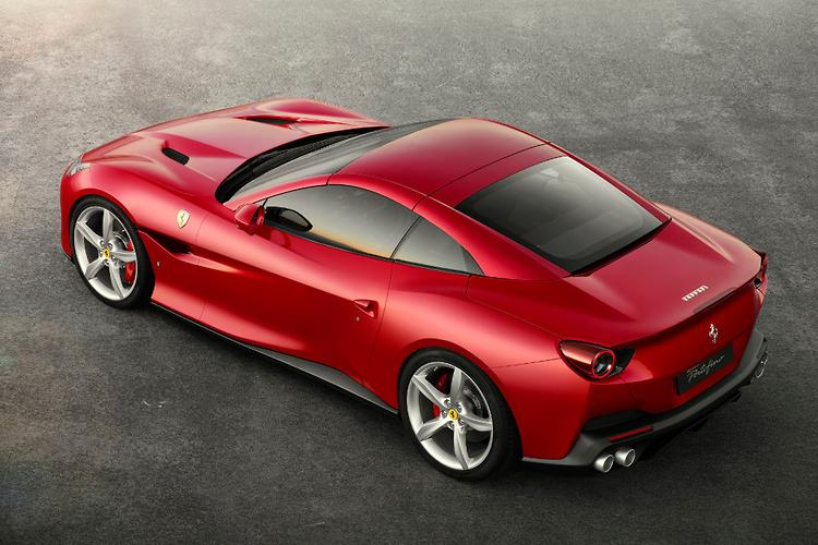 Take a first look at the latest model — Ferrari's new Portofino