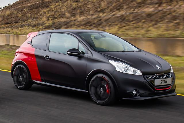 peugeot 208 gti 30th anniversary 2015 review. Black Bedroom Furniture Sets. Home Design Ideas