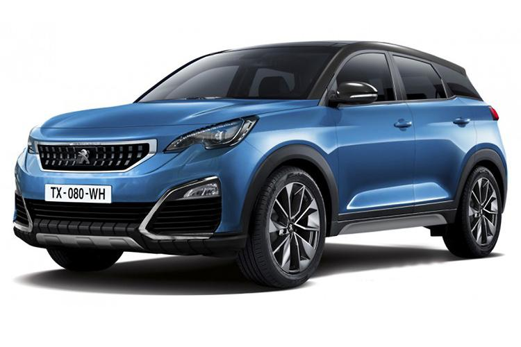 peugeot plotting two new suvs. Black Bedroom Furniture Sets. Home Design Ideas
