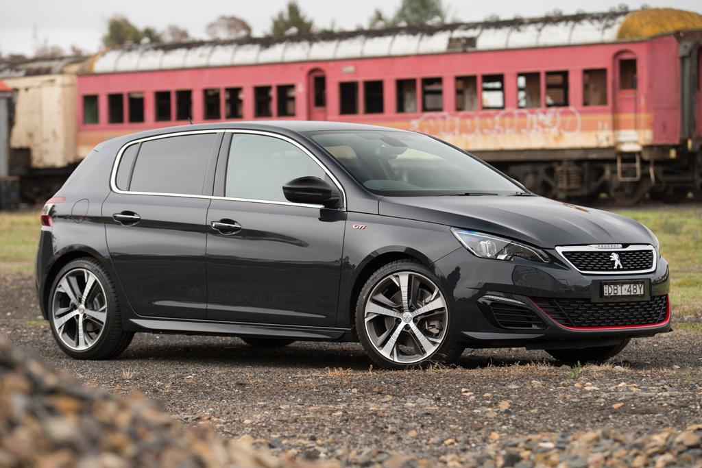 peugeot 308 gti arrives. Black Bedroom Furniture Sets. Home Design Ideas