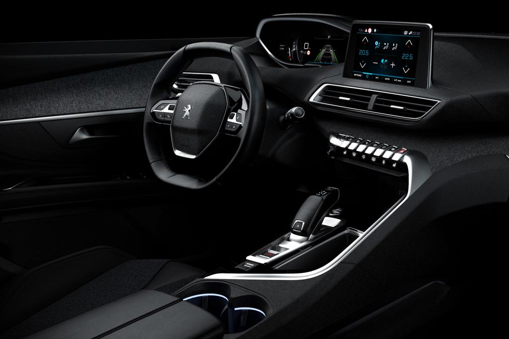 peugeot reveals i cockpit version 2 0. Black Bedroom Furniture Sets. Home Design Ideas