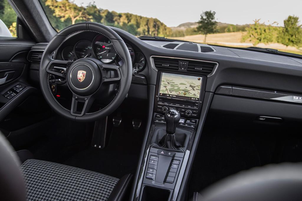 Porsche 911 r 2016 review motoring porsche then mates this custom made gearbox to a mechanically locking differential and torque vectoring plus rear wheel steering sciox Images