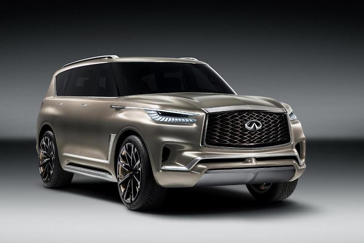 NY 2017: INFINITI QX80 Monograph Has Beautiful Ideas of Grandeur