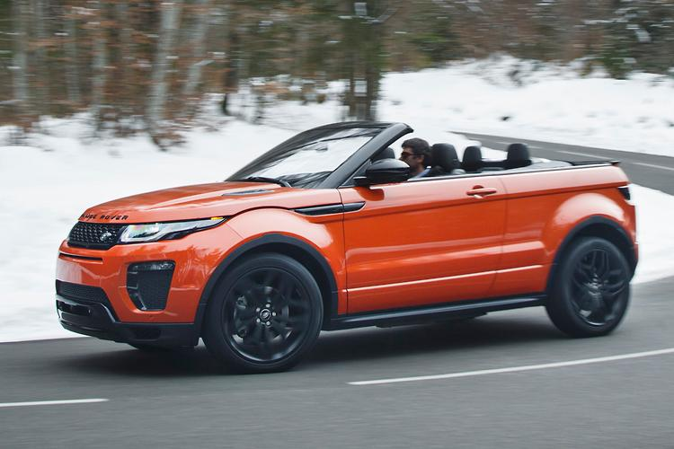 Range Rover Evoque Convertible 2016 Review Motoring Com Au
