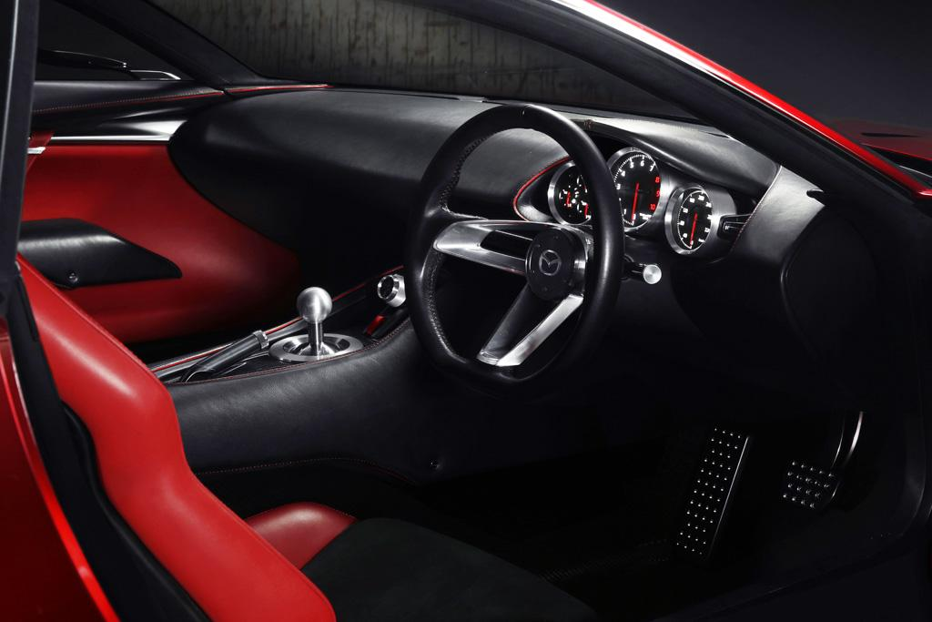 Mazda revs up new rotary sports car - motoring com au