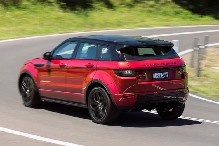 Range Rover Evoque 2016 Review Motoring Com Au