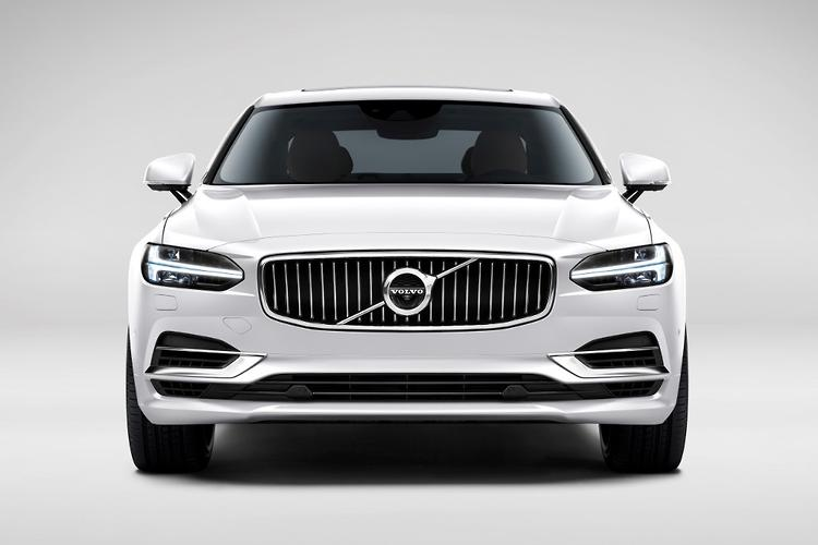 volvo s90 to debut new three cylinder hybrid tech. Black Bedroom Furniture Sets. Home Design Ideas