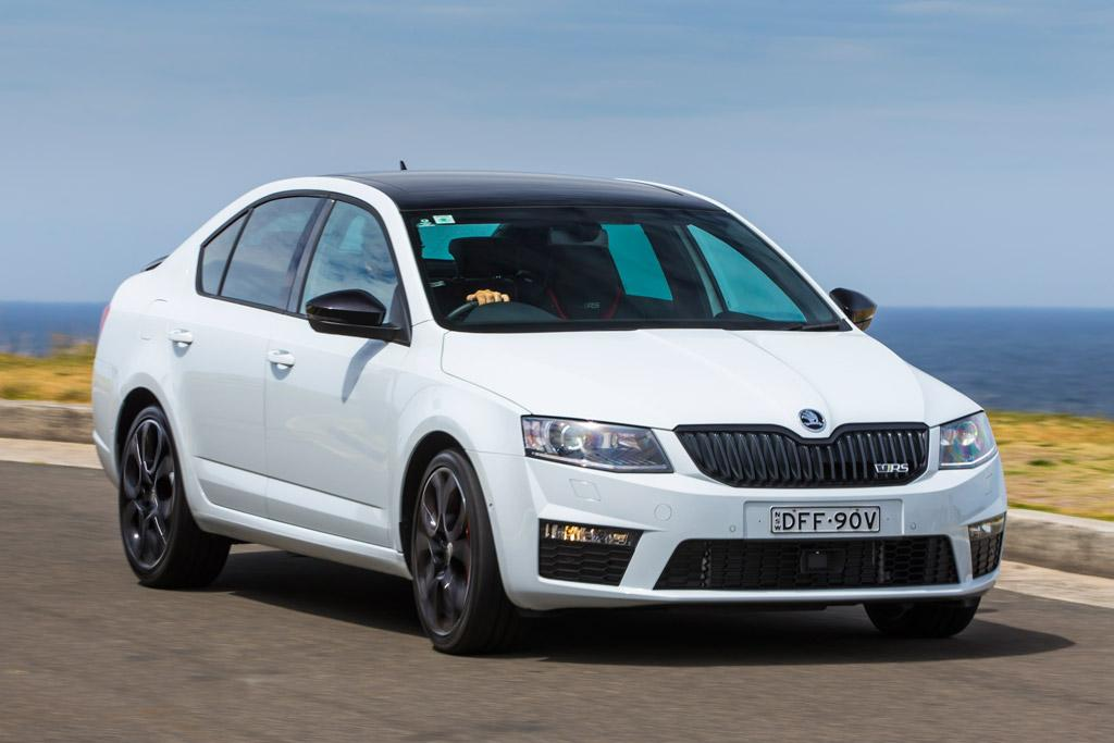 skoda octavia rs 230 2016 review. Black Bedroom Furniture Sets. Home Design Ideas