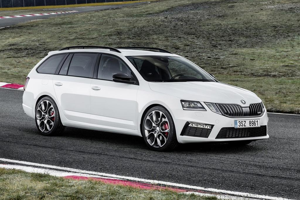 2018 skoda octavia rs arrives. Black Bedroom Furniture Sets. Home Design Ideas
