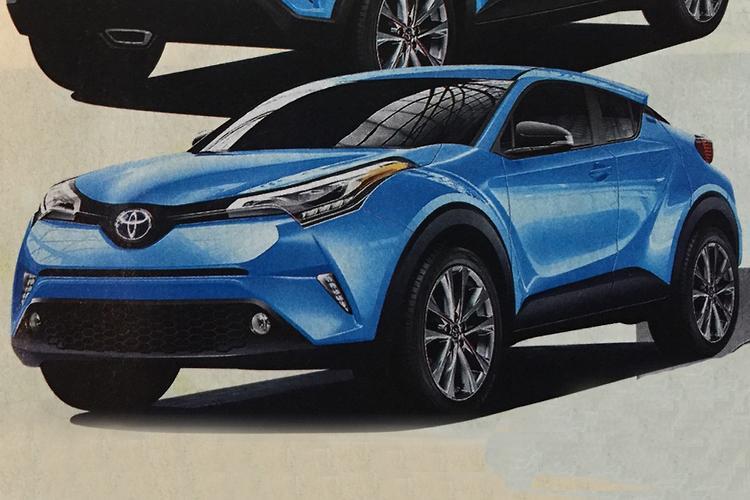 Toyota Prepping Hybrid Compact Suv Motoring Com Au