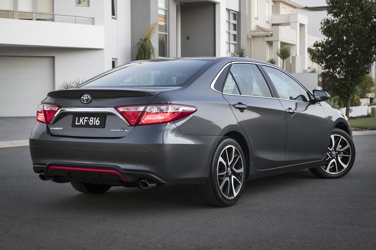 Toyota Oz reveals its final Camry - motoring com au