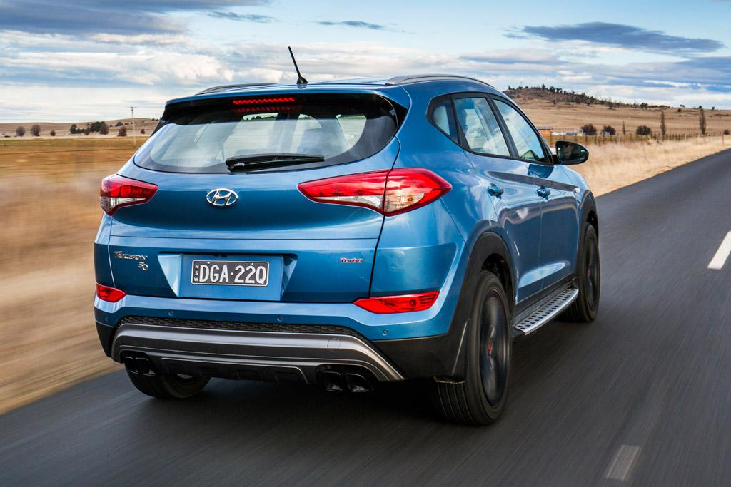 Like all limited-edition models, the Tucson '30' Special Edition ...