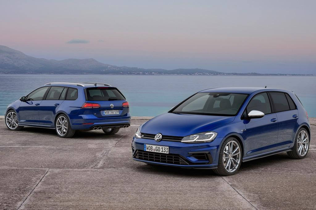2018 volkswagen golf r. fine golf the wagon will share many of the same features as its golf r hatch sibling  including a 92inch centre screen with satnav gesture control  intended 2018 volkswagen golf r