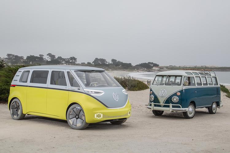 Volkswagen re-imagines the '60s Microbus with new, all-electric van