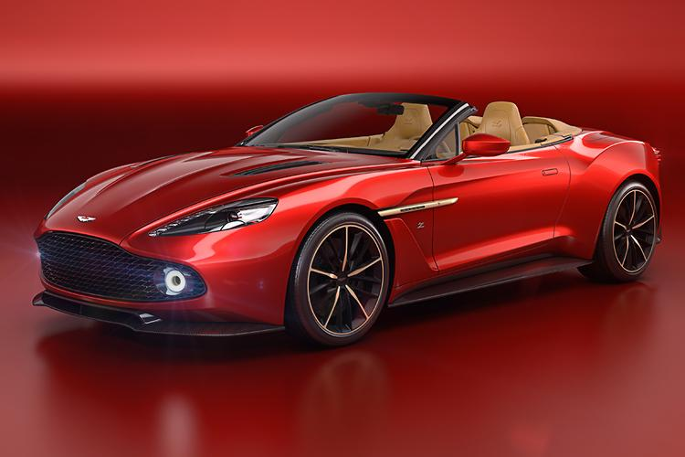 Aston Martin Vanquish Zagato goes topless