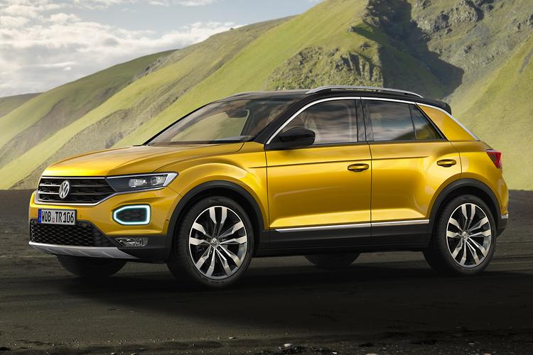 Volkswagen T-Roc revealed - MQB-based crossover