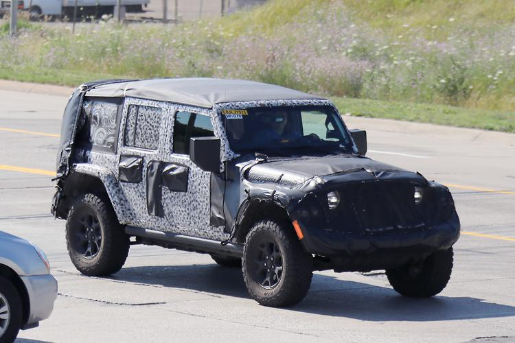 spy pics jeep wrangler fuel economy to improve. Black Bedroom Furniture Sets. Home Design Ideas