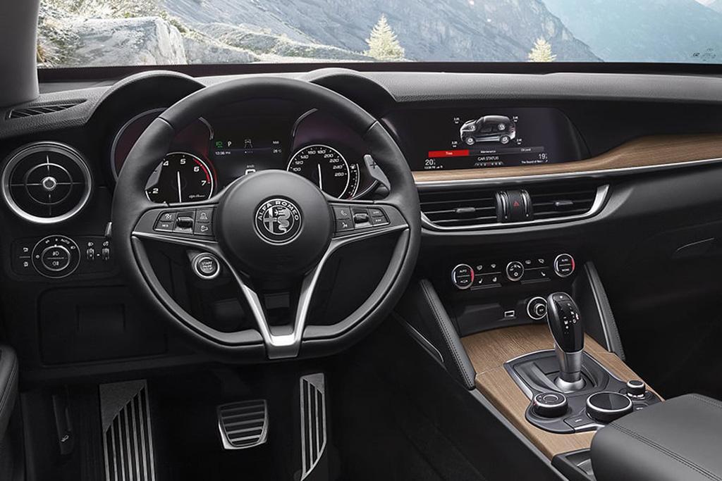 Alfa Romeo Stelvio Now Here This Year