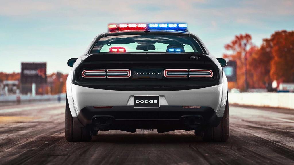 Dodge Demon: World\'s fastest police car? - motoring.com.au