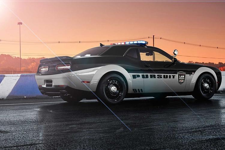 dodge demon world s fastest police car   motoring   au