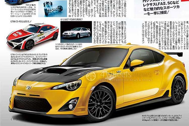 Toyota 86 to go AWD turbo - motoring.com.au