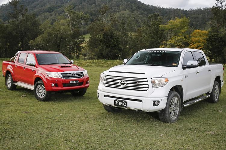 Big And Bigger Toyota Tundra And Toyota Hilux 2014