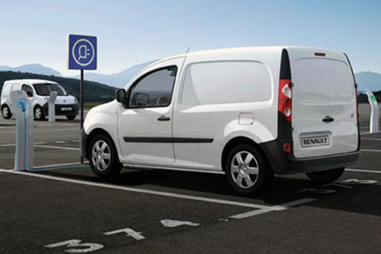 renault kangoo ze electric van. Black Bedroom Furniture Sets. Home Design Ideas