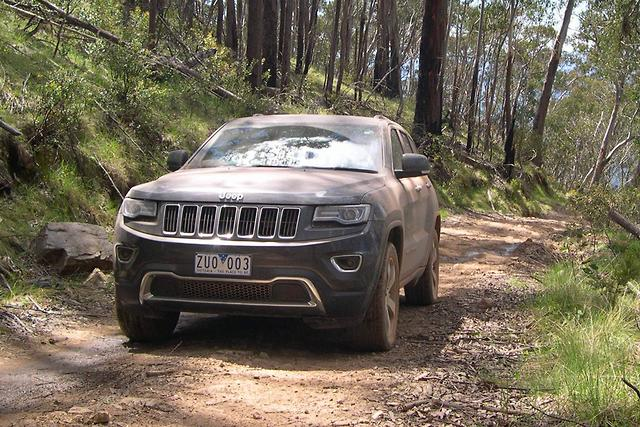 of the grand cherokee goes where others would not dare to tread. Cars Review. Best American Auto & Cars Review