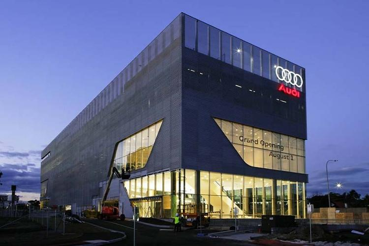 Audi temple open for business - motoring.com.au