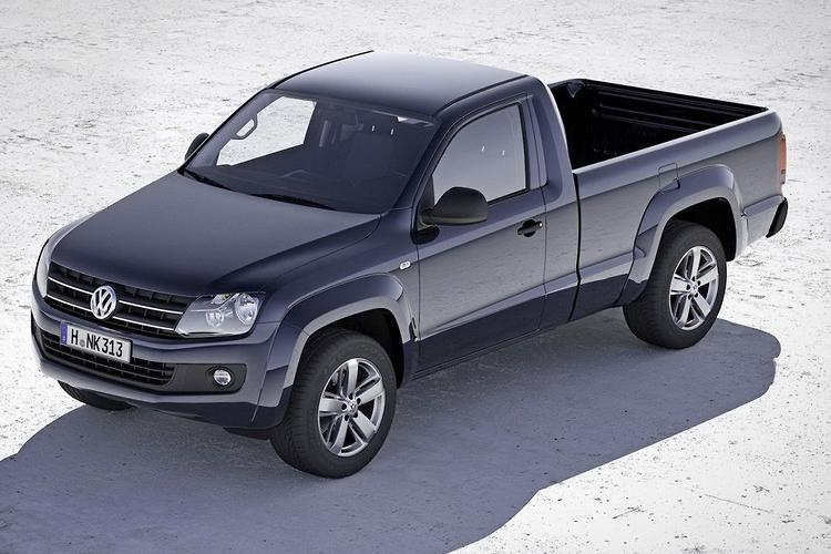 vw amarok picks up single cab and auto box. Black Bedroom Furniture Sets. Home Design Ideas