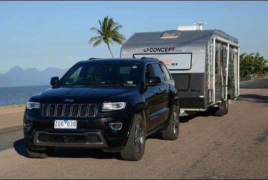 Jeep Grand Cherokee 2013 Tow Test