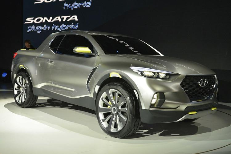 DETROIT MOTOR SHOW: First Hyundai ute raises eyebrows ...