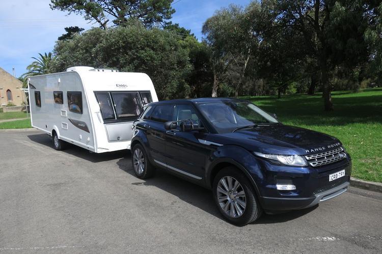 range rover evoque 2014 tow test. Black Bedroom Furniture Sets. Home Design Ideas