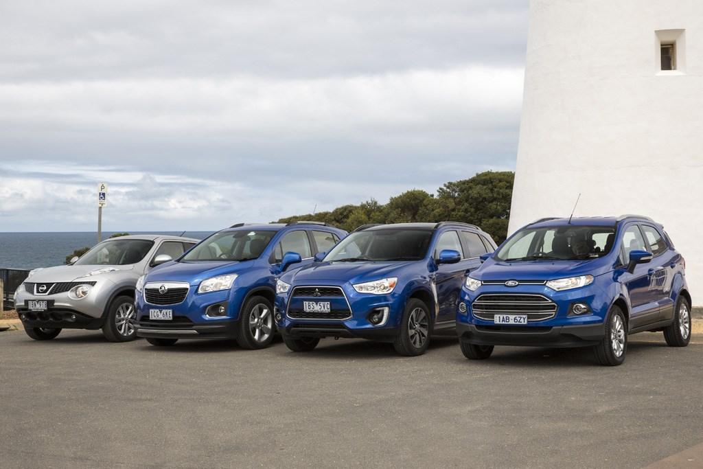 Image Result For Ford Ecosport Vs Mitsubishi Asx