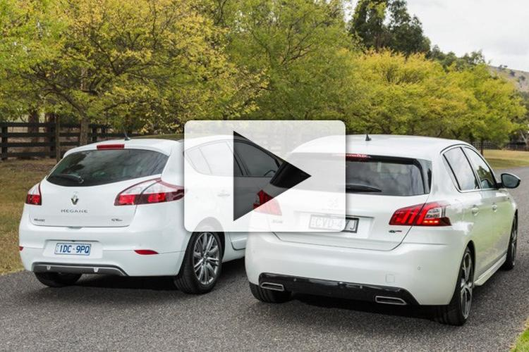 Peugeot 308 GT Diesel v Renault Megane GT-Line: Video Review