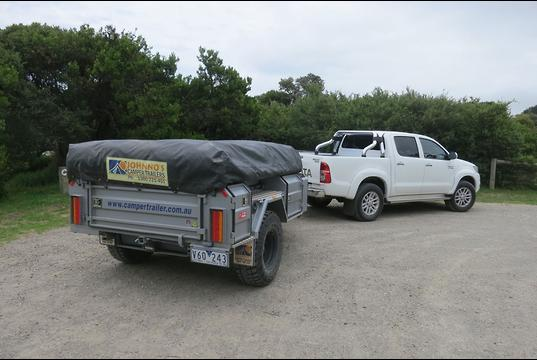 Toyota Hilux 2015 Tow Test