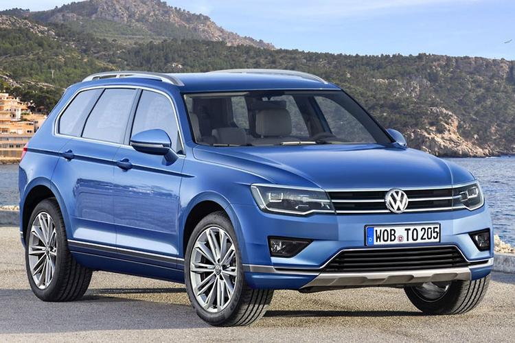 VW's next Touareg rendered - motoring.com.au