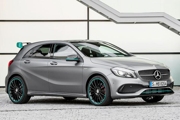 hotter a 45 amg for fresh mercedes a class line up. Black Bedroom Furniture Sets. Home Design Ideas