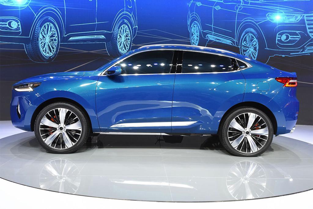 Haval Blue 03 Suv Coupe Concept Unveiled Motoring Com Au