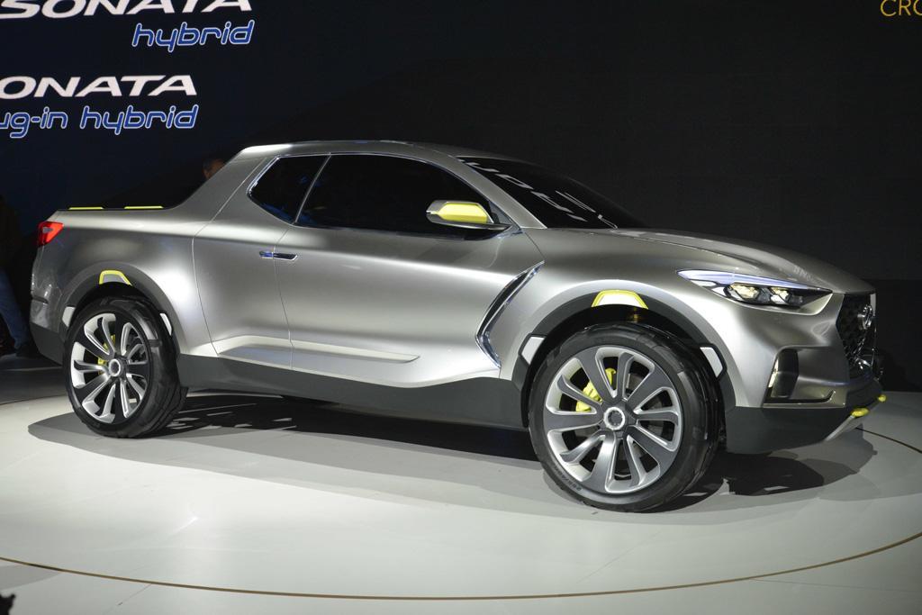Hyundai's compact SUV-based Santa Cruz ute could one day rival ...