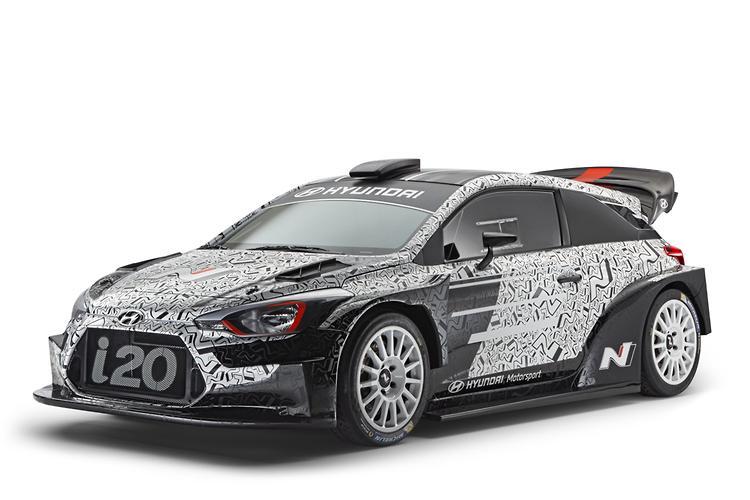 Tiến hành chạy thử Hyundai i20 chuẩn bị tham dự WRC