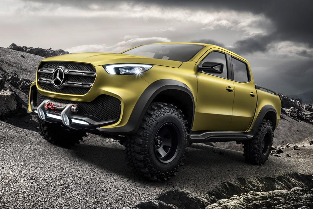 mercedes benz x class ute revealed