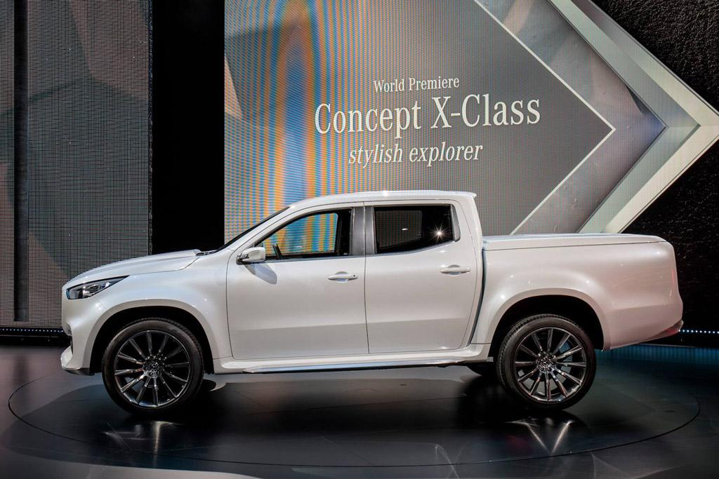 Mercedes benz x class a ute not a pickup for Mercedes benz x class price